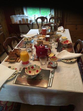 Aldergrove, UK: Breakfast