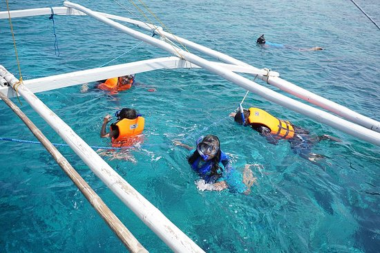 Sablayan, Filipinas: Apo Reef Natural Park: good for snorkling, best for scuba diving