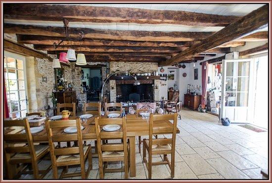 Montferrand du Perigord, France: Salle commune