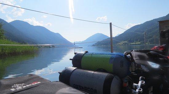 Tauchurlaub am Weissensee in Kärnten