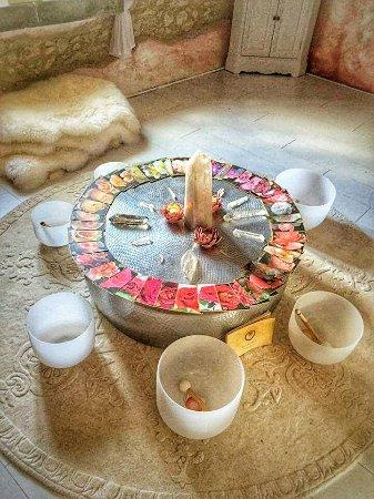Puivert, Francia: Yoga Temple