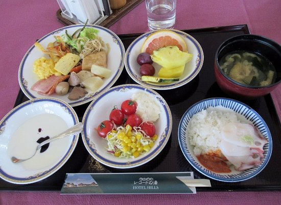 Niikappu-cho, Japan: 朝食バイキング