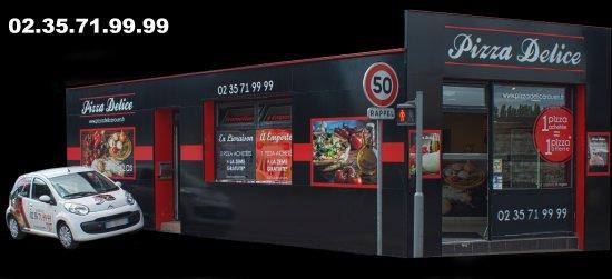 """Résultat de recherche d'images pour """"pizza delice rouen"""""""