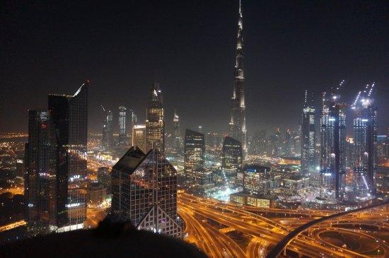 Burj khalifa utsikt fra rommet picture of shangri la for Dubai hotels near burj khalifa