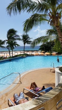 Hilton Barbados Resort: Whatever you do ,never miss out breakfast on your package at the Hilton Barbados. It's the buffe