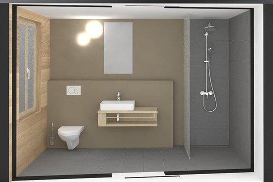 Blatten, Switzerland: Neue Badezimmer