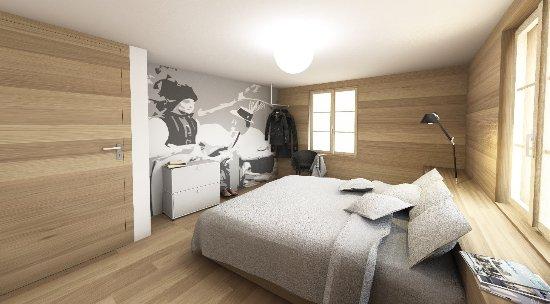 Blatten, Switzerland: Neue Doppelzimmer Komfort und Standard