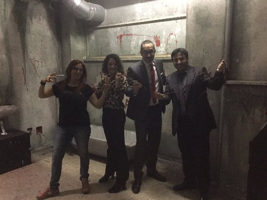 Escape Room Saw L Enigmista Photo De Game Over Escape