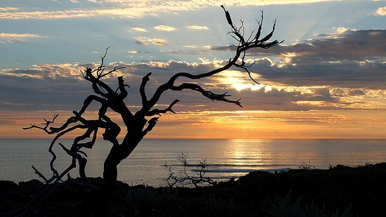 Prevelly, Australia: The day is nearly over ...