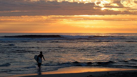 Prevelly, Αυστραλία: The end of another day's surfing ...