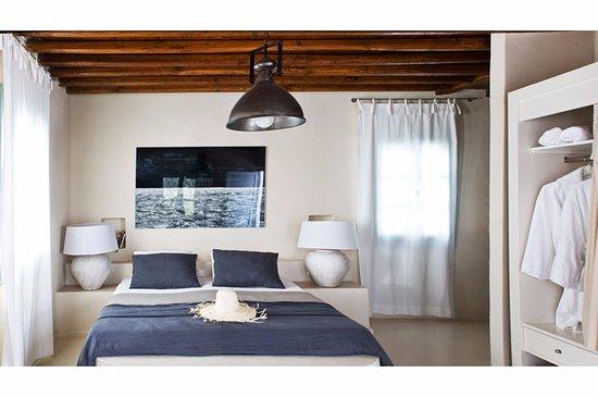 Platis Yialos, Grecia: Bedroom