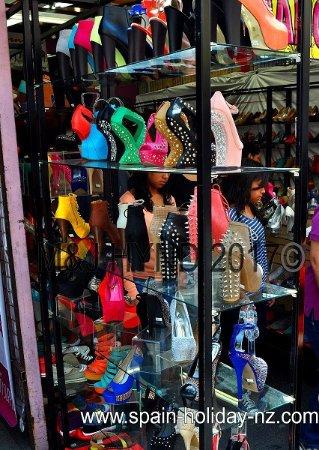 LA Fashion District: Killer heels with spikes, stilettos
