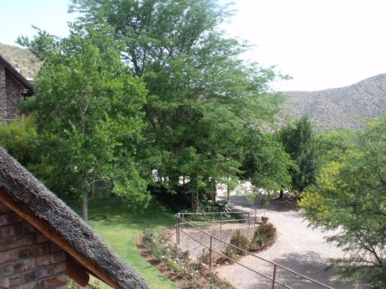 De Poort Country Lodge: View from Room 4