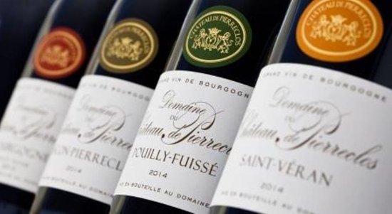 Pierreclos, France : les vins du domaine