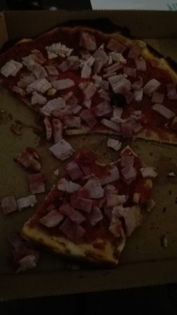 Tres bonnes pizzas