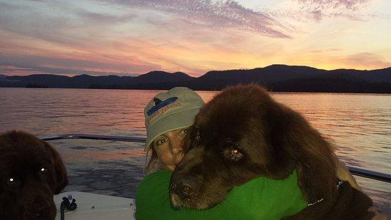 Holderness, NH : LOVE on Squam Lake
