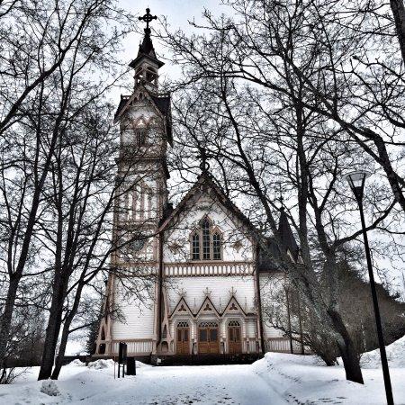 Kajaani, فنلندا: Kajaani Church, Kajaani, Finland
