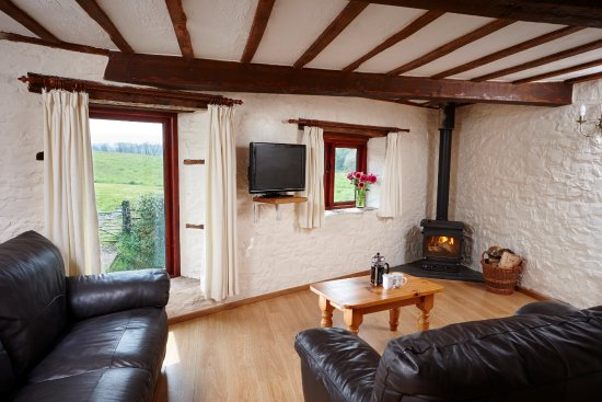 Beech Cottage Living Area With Wood Burning Stove Picture Of