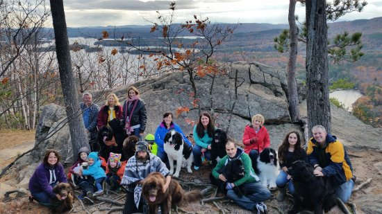 Cottage Place on Squam Lake: Newfember weekend 2016 - local hike