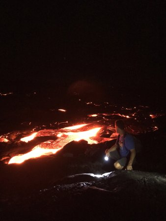 Kamuela, HI: Beautiful breakout lava flows!  If there are any, we will find the spot!