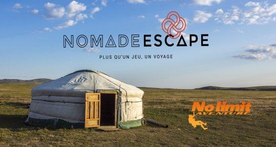 Nemours, France : Nomade Escape : Escape game dans des habitats Nomade
