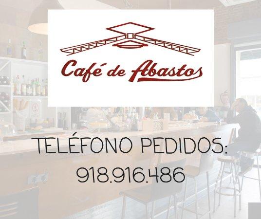 Cafe De Abastos: Teléfono
