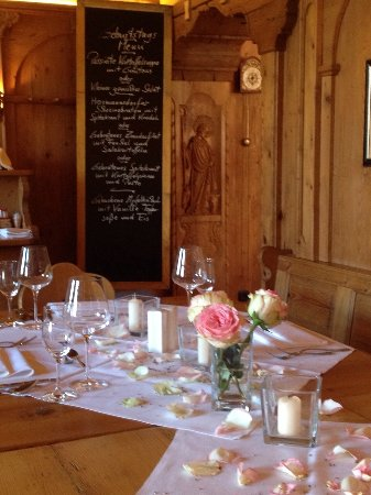 Gmund am Tegernsee, Germany: Gedeckter Tisch
