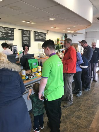 The Garden Centre Restaurant: Very busy service has improved