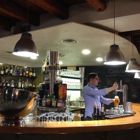 San Giorgio di Nogaro, إيطاليا: In der gemütlichen Hotelbar wird gutes Bier gezapft