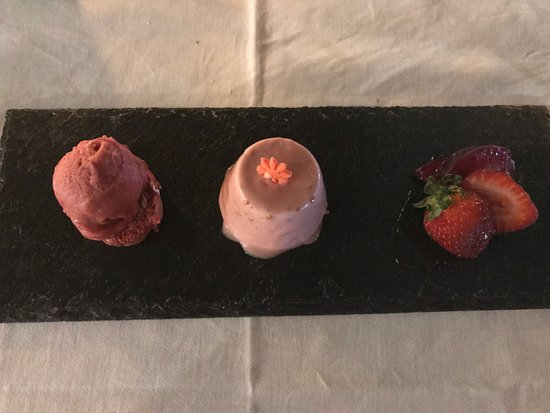 Gordon's Bay, แอฟริกาใต้: Dessert