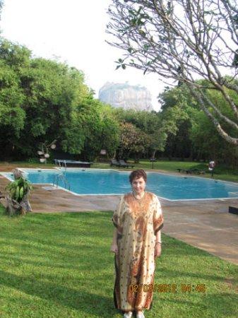Sigiriya Village Hotel: Сигирию не всегда видно хорошо