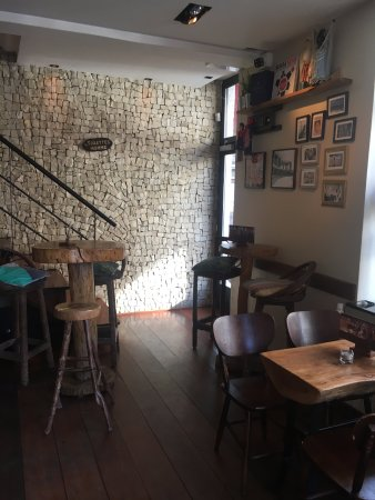 L\'intérieur du bar - Picture of Cafe Brasil, Liege - TripAdvisor