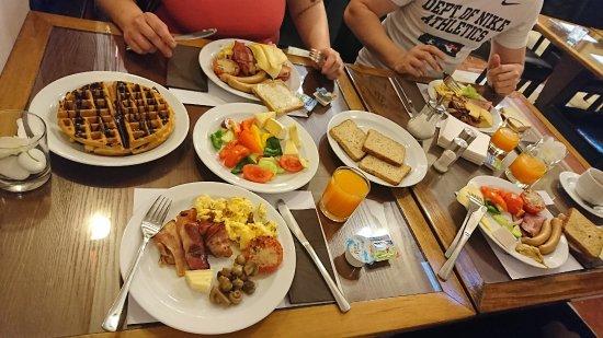 Free Buffet Breakfast Picture Of Hotel Majestic Plaza Prague