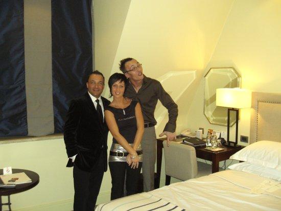 Hotel Amigo: Chambre type du prestigieux hôtel...