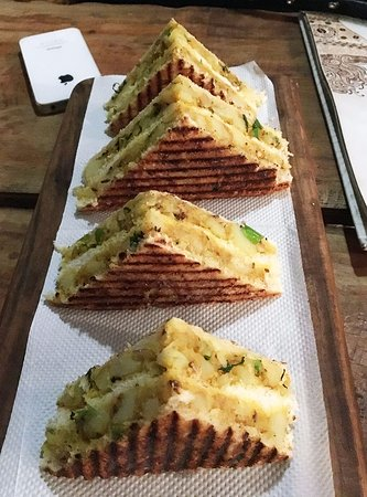 Mangosteen Cafe : Potato Sandwich