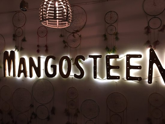 Mangosteen Cafe : Mangosteen
