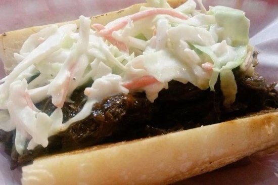 Beck's Cajun Cafe: Short Rib with Cole Slaw