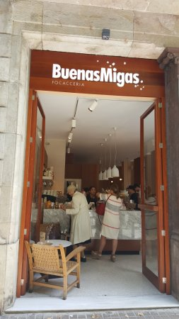 Buenas Migas: View of the Cafe from the Street
