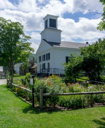 Plymouth, VT: L'église -