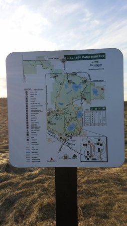 Elm Creek Park Reserve: Easy to navegate!