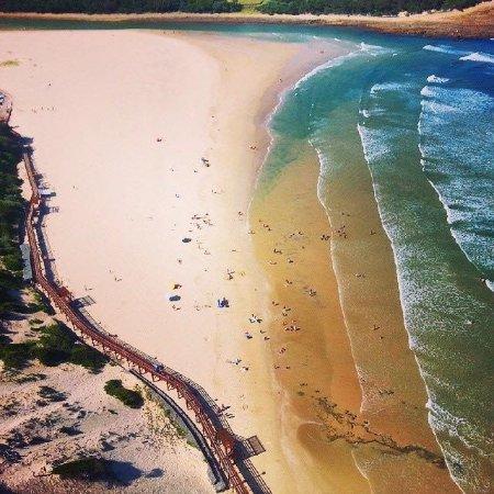 Gonubie beach and boardwalk approx 2kms away