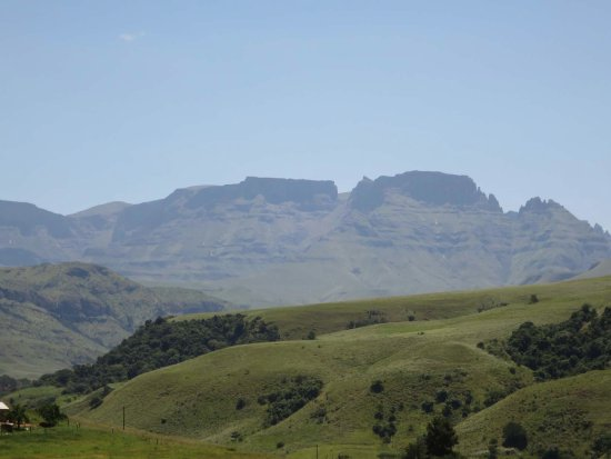 uKhahlamba-Drakensberg Park, Sudáfrica: Approaching the camp