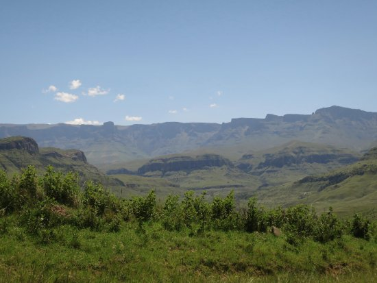 uKhahlamba-Drakensberg Park, Sudáfrica: On way to the camp