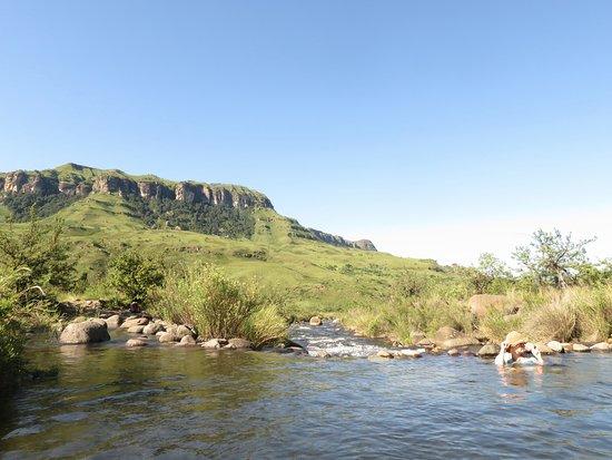 uKhahlamba-Drakensberg Park, Νότια Αφρική: Great river swimming