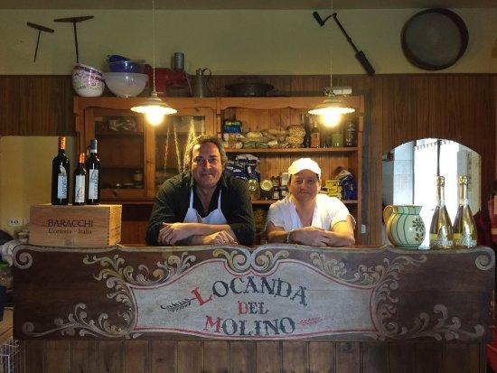 Locanda del Molino: Benvenuti alla Locanda Stefano e Simona