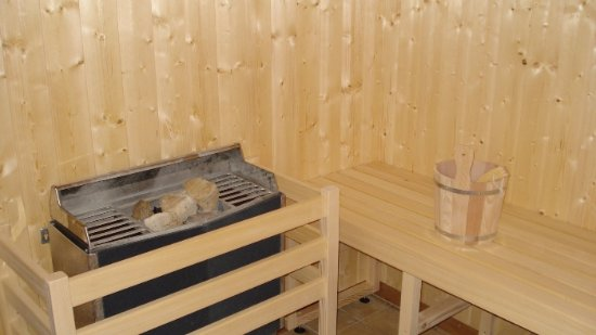 Sisak, Kroatien: sauna