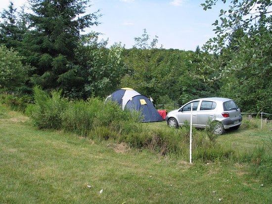 Saint-Nicolas-des-Biefs, France: espaces tentes