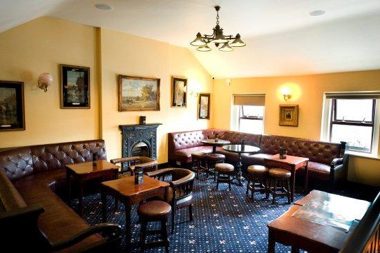 Drogheda, Ireland: The cosy bar upstairs