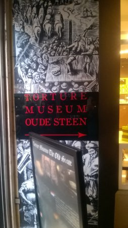 Torture Museum Oude Steen: Ingang