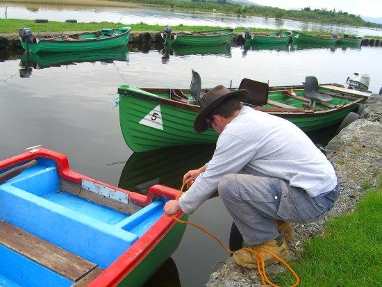 Oughterard, Irlanda: Our Private Boat Jetty